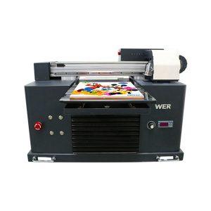 Sıcak satış a3 dx5 kafa dijital tişört uv flatbed baskı makinesi