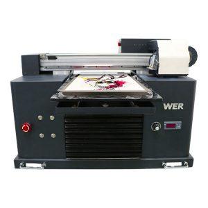 Yüksek kalite ve düşük fiyat eko solvent masaüstü yazıcı ucuz fiyat / dijital flatbed tişört yazıcı