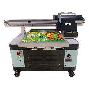 A2 boyut uv masaüstü yazıcı için metal / telefon kılıfı / cam / kalem / kupa