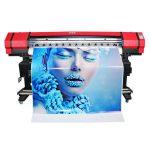 Geniş format 6 renkler flekso afiş sticker solvent mürekkep püskürtmeli yazıcı