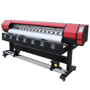 4 renkler CMYK geniş format eko solvent yazıcı esnek afiş baskı makinesi