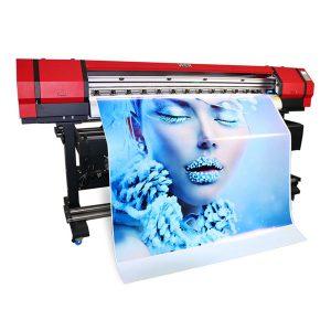 1.6 m deri makinesi esnek afiş flatbed kumaş geniş format eko solvent mürekkep püskürtmeli