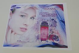 Bayrak Bez afiş 1.6 m tarafından basılmış (5 ayak) eko solvent yazıcı WER-ES160 4