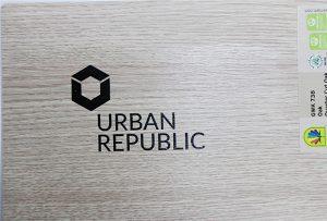 Ahşap malzemelere logo baskısı by WER-D4880UV 2