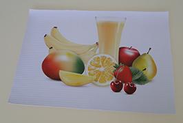 3,2 m (10 feet) eko solvent yazıcı WER-ES3201 ile basılan PVC afiş
