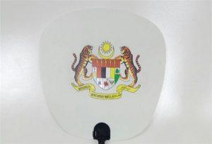 A1 boyut uv yazıcı tarafından basılan plastik Fan örneği 6090UV