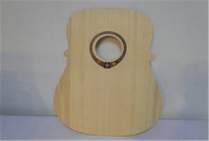 A2 boyutu ahşap gitar örnek uv yazıcı WER-DD4290UV