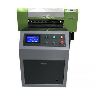 Pvc yazıcı geniş format tuval yazıcı golf topu baskı makinesi WER-ED6090UV